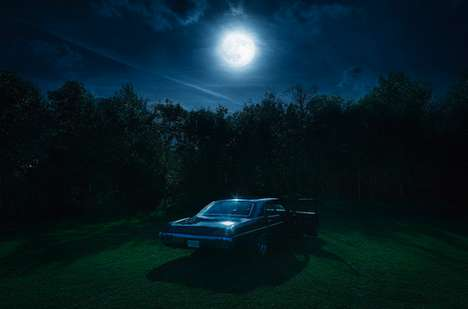 Gleaming Moonlight Photography