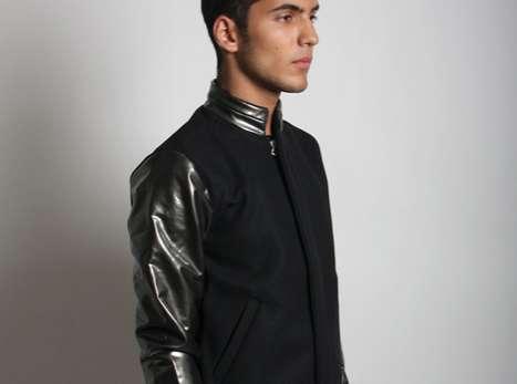 Minimalist Varsity Jackets