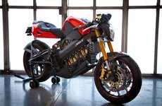 Water-Cooled Motorcycles - The Brammo Empulse is a First in the Electric Bike Industry