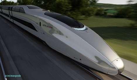 Sleek Speed Trains