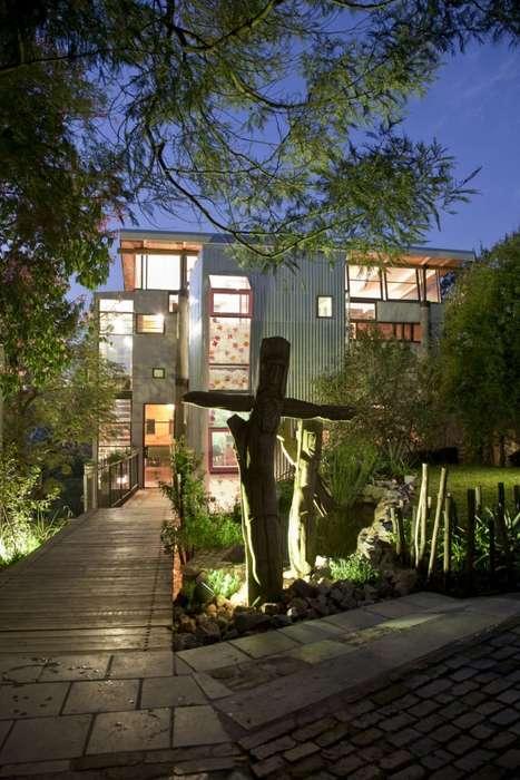 Whimsical Window-Covered Homes