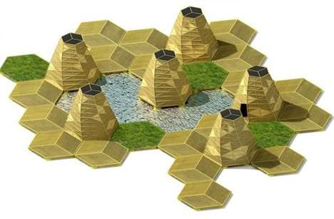 This Hexagonal Floating Community is a Zero-Emissions City in Vietnam