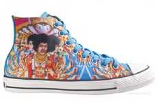 Guitar God Kicks - The Converse Jimi Hendrix Pack Will Make You a Guitar Hero