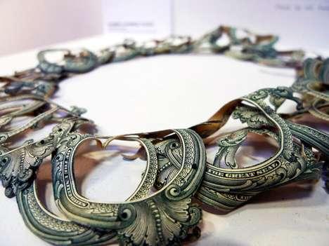 Dollar Bill Necklaces