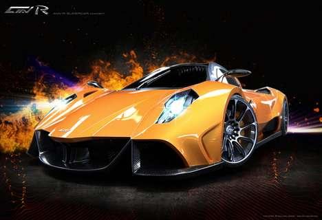 Exotic Speedy Sedans