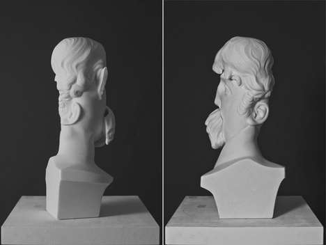 Distorted Traditional Statues