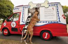 Puppy Sundae Trucks - World's First Canine Ice Cream Van K99 Offers Delicious Flavors for Dogs