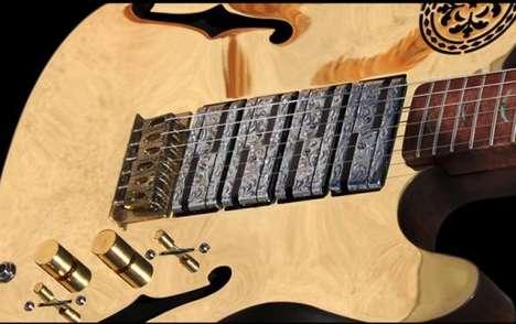 Glamorous Gilded Guitars