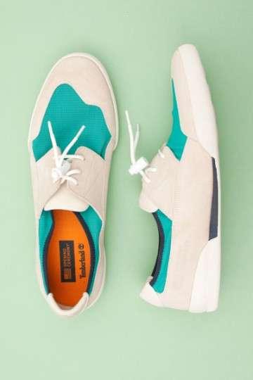 Tricolor Boat Shoes