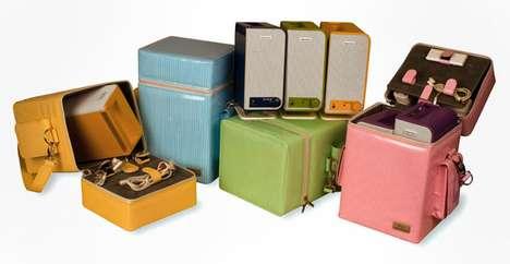 Portable Pastel Speakers