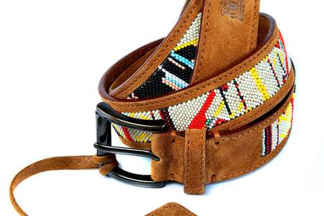 Beaded Leather Accessories