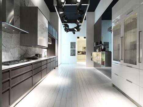 Minimalist 2-in-1 Kitchens