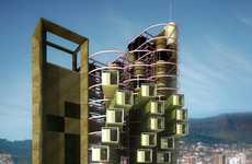 Mobile High-Rises - These Economy-Sized Portable Condos Can be Transported