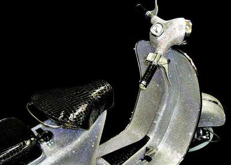 Crystal-Studded Scooters