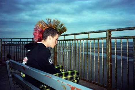Punk Aesthetic Photography