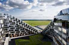 Green-Roofed Apartments - Copenhagen's 8 Tallet Complex is the Largest in Denmark