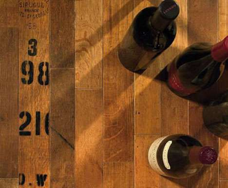 Reclaimed Booze Flooring