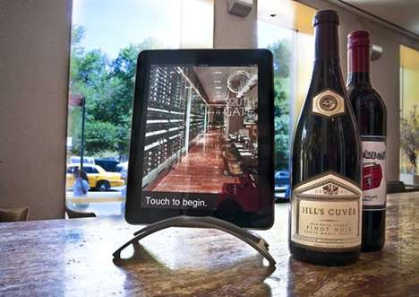 iPad Menus - New York City's South Gate Restaurant Uses Tablets as Wine Lists