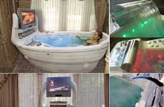 Boat-Shaped Bathtubs