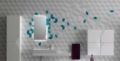 Cubist Wall Treatments