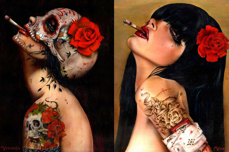 Sultry Mutilation Art