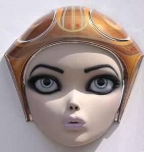 Super-Sized Barbie Heads - Colin Christian Creates Surreal Sculptures of Silicone Ladies