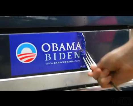 Political Decal Removers - Obama Bumper Sticker Removal Kits for Spurned Supporters