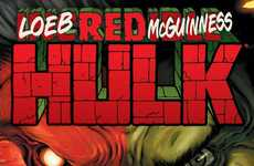 Fiery Superhero Rebranding - At Comic-Con 2010, Marvel Comics Announces the 'Red Hulk'