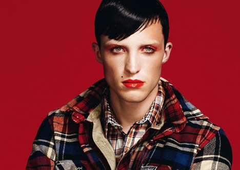 Male Pin-Up Makeup