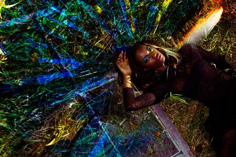 Laser-Lit Fashion Shoots