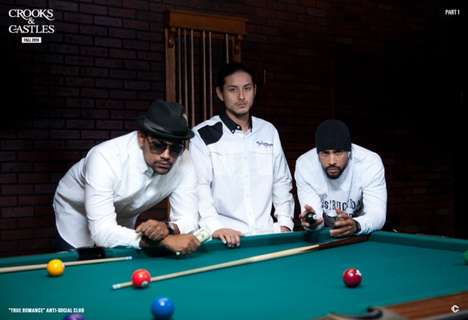 Pool Hall Streetwear Shoots