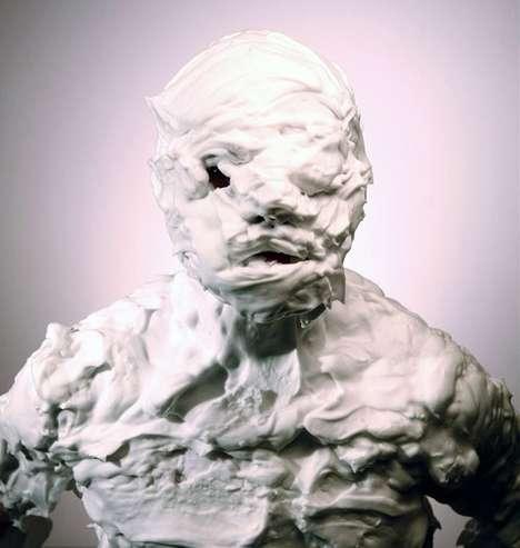 Shaving Cream Mummies