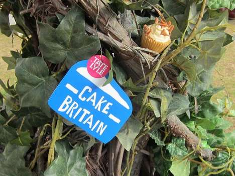 Cake Harvests - The Cupcake Tree for Tate + Lyle Encourages Kids to Bake