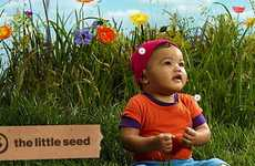 Organic Baby Clothes - 'The Little Seed' is a Collaboration with Soleil Moon Frye and Target