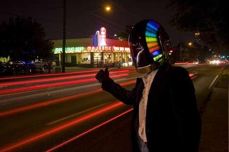 DIY DJ Helmets