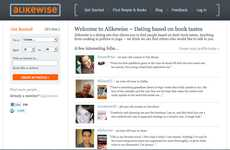 Bookworm Dating Sites - 'Alikewise' Chooses Your Mate by Their Literature Preference