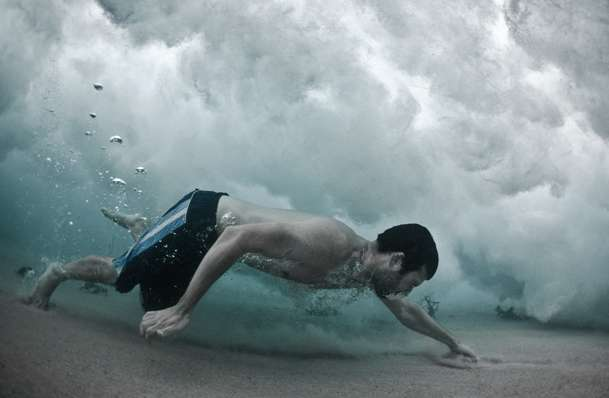 Underwater Wave Photography