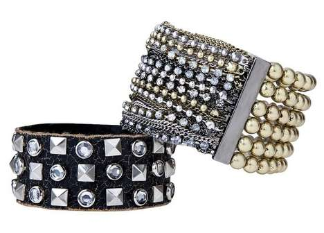 Glam Studded Cuffs