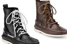 Winter Boat Shoes - The Sperry Top-Sider Cloud Logo Authentic Original 7-Eye Boot