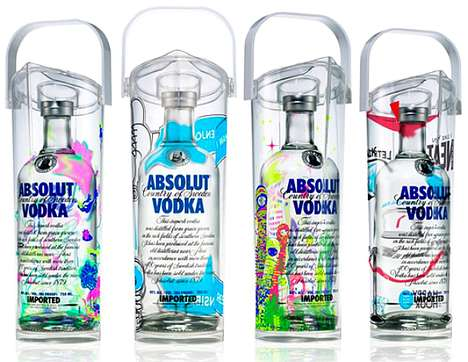 Psychedelic Booze Branding