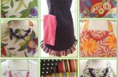 Snappy Vintage Aprons - Look Cute While Cleaning With 'Pretty Snappy Designs'