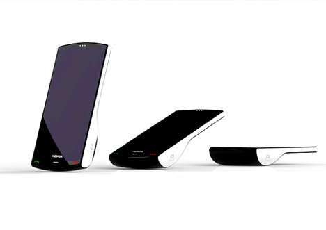 Standing Cellphones