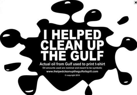 Oil-Splattered Tees