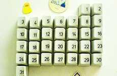 Upcycled Computer Calendars - The DIY Keyboard Calendar is a Fun Craft for Kids and Geeks