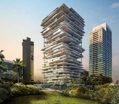 Teetering Architecture - The Beirut Terraces Are Full of Glass and Gardens