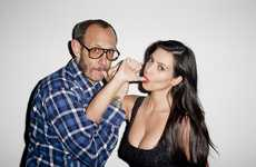 Thumb-Sucking Reality Stars - The Terry Richardson Kim Kardashian Photoshoot