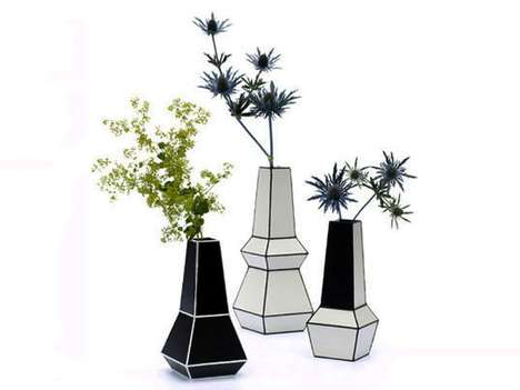 Cartoonish Flower Containers