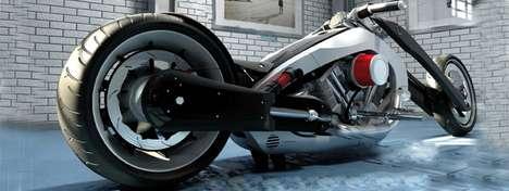 Hybrid Chopper Motorcycles