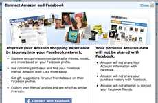 Social Media Shopping - Facebook and Amazon Team Up for an Easy Shopping Experience