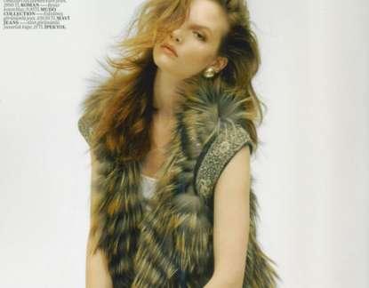 Layered Fur Vests